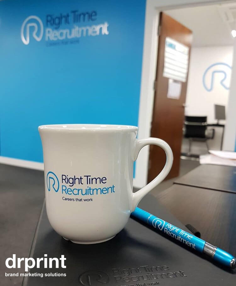 Right Time Recruitment Branded Merchandise