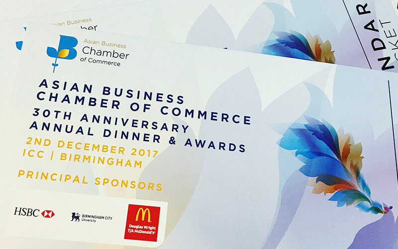 Asian Business Chamber of Commerce 30th Anniversary Annual Awards