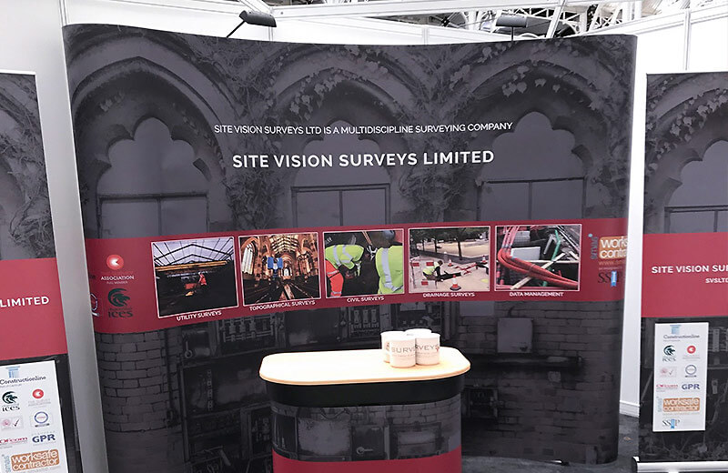 Pop up display for trade shows